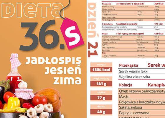 Dieta 36s - Jadłospis Jesień Zima